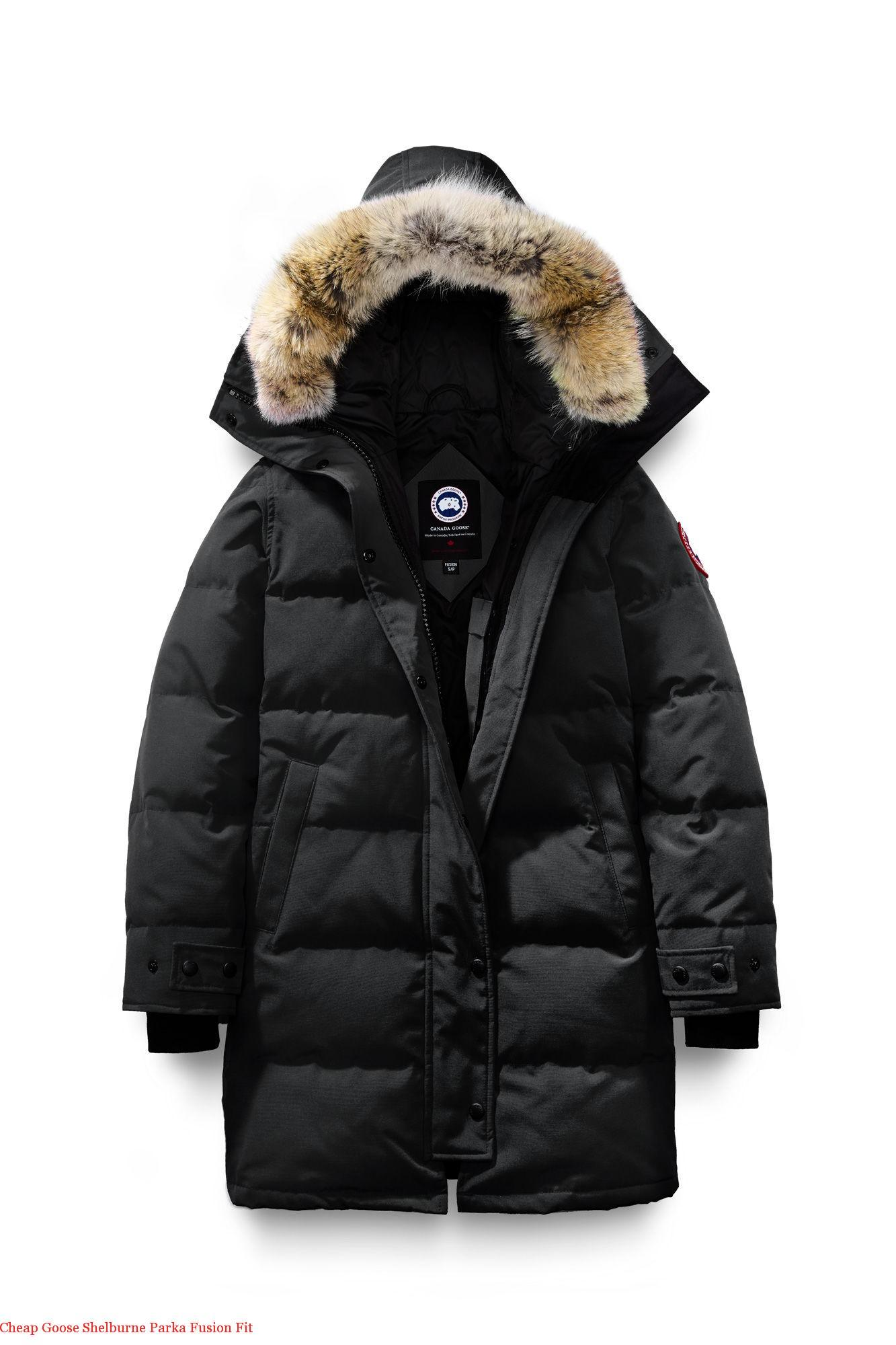 Cheap Goose Shelburne Parka Fusion Fit